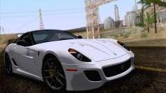 Ferrari 599 GTO 2011 v2.0 para GTA San Andreas