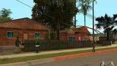 Nuevas texturas de casas en la calle Grove