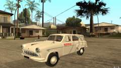 Moskvitch 423 m ambulancia para GTA San Andreas