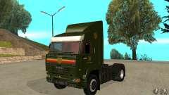 KAMAZ 5460 piel 5 para GTA San Andreas