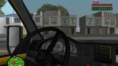Tablero de instrumentos activo para GTA San Andreas