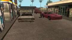 Espacio animado v1.0 para GTA San Andreas