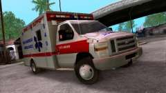 Ford E-350 Ambulance v2.0 para GTA San Andreas