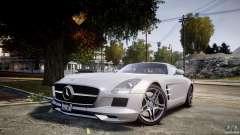 Mercedes-Benz SLS AMG 2010 [EPM] para GTA 4