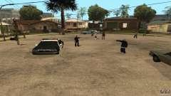 El Grove Street fue atacado por Ballas