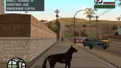 Cerberus de Resident Evil 2 para GTA San Andreas