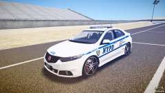 Honda Accord Type R NYPD (City Patrol 1090) ELS para GTA 4