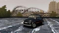 Fiat 500 695 Abarth para GTA 4