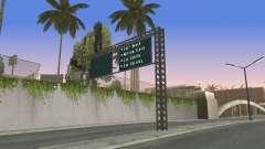 Carretera signos v1.0 para GTA San Andreas