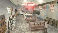 Una bulliciosa tienda Ammu-Nation v3 (Final) para GTA San Andreas
