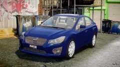 Subaru Impreza Sedan 2012 para GTA 4