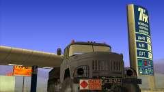 ZIL 131 petrolero