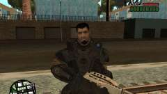 Dominic Santiago de Gears of War 2 para GTA San Andreas