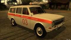Ambulancia Volga GAZ-24 03 para GTA San Andreas