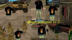 Super protection v1.0 para GTA San Andreas