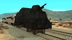 Tren blindado alemán del segundo mundo