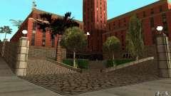 Nuevas texturas para el hospital en Los Santos