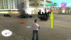 Wanted Level = 0 para GTA Vice City