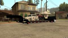 Trailer lowboy transport para GTA San Andreas