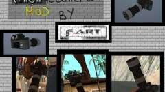 Cámara CANON para GTA San Andreas