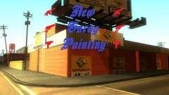 New Garage Painting