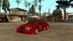 Diablo rojo VAZ-2112 para GTA San Andreas