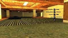 Nuevo garaje para policía para GTA San Andreas