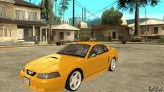 Ford Mustang GT 1999 - Stock para GTA San Andreas