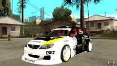 Subaru Impreza 2009 (Ken Block) para GTA San Andreas