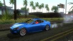 Maserati Gran Turismo S 2011 para GTA San Andreas