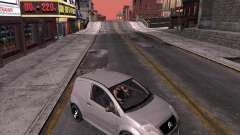 Citroen C2 workers car para GTA San Andreas