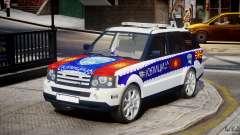 Range Rover Macedonian Police [ELS] para GTA 4