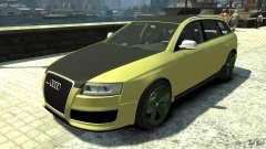 Audi RS6 Avant 2010 Carbon Edition para GTA 4