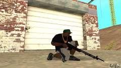 Browning M1919 para GTA San Andreas