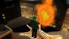 Chimenea en la casa de Toreno para GTA San Andreas