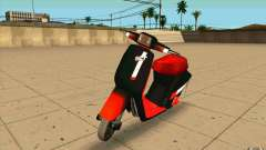 Honda Tact af09 para GTA San Andreas