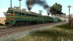 Carga Estados bálticos locomotora ferroviaria fo