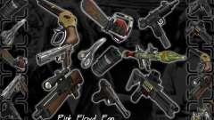Gran Pack de armas para GTA San Andreas