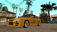 Toyota Camry TAXI para GTA San Andreas