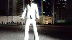 Traje blanco para GTA San Andreas