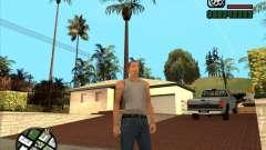 Cj blanco para GTA San Andreas