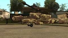 Nuevas texturas para el cazador para GTA San Andreas
