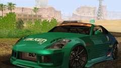 Nissan 350Z Falken Tire para GTA San Andreas