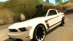 Ford Mustang Boss 302 2011 para GTA San Andreas