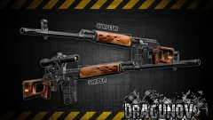 Dragunov sniper rifle v 1.0 para GTA San Andreas
