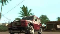 Mercedes Benz G500 A_R_T para GTA San Andreas