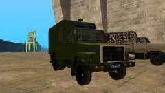 GAZ 3309 patrullero