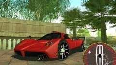 Nuevo velocímetro Lincoln para GTA San Andreas