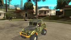 GAZ 69 juicio para GTA San Andreas
