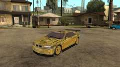 BMW M3 Goldfinger